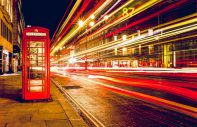 phone booth and speed lighting